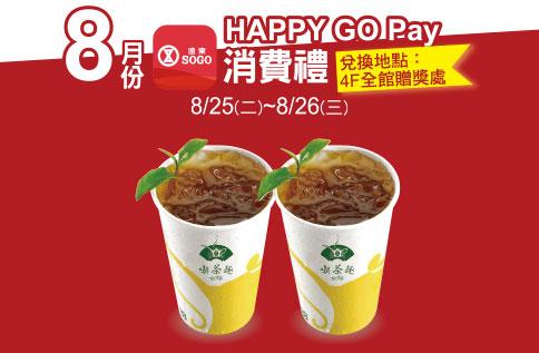 HAPPY GO Pay消費禮 第二波