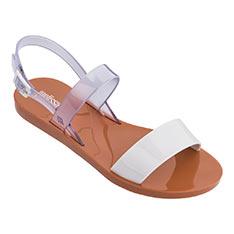 Melissa [Women] 經典撞色平底涼鞋  白色