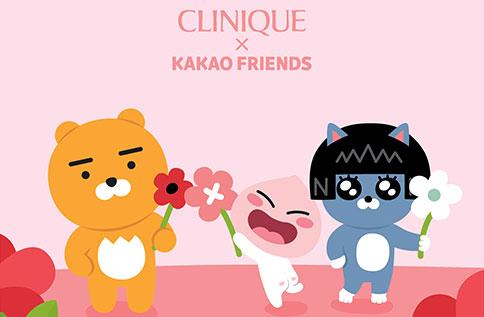 1F CLINIQUE x  Kakao Friends