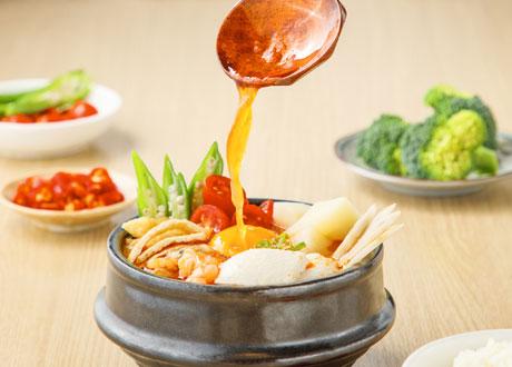 蔬果純豆腐