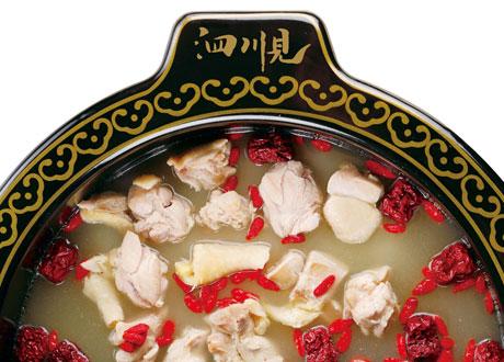 酒香花雕雞鍋