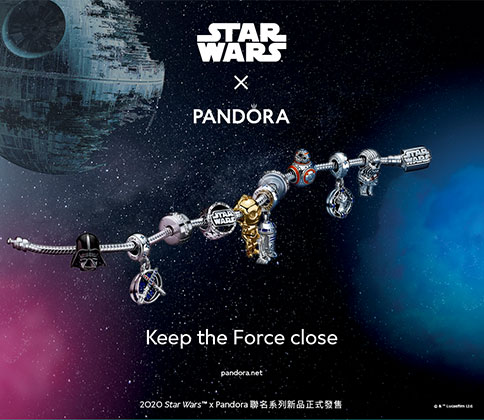 B1 Star Wars x Pandora原力同在 聯名限定滿額禮盒