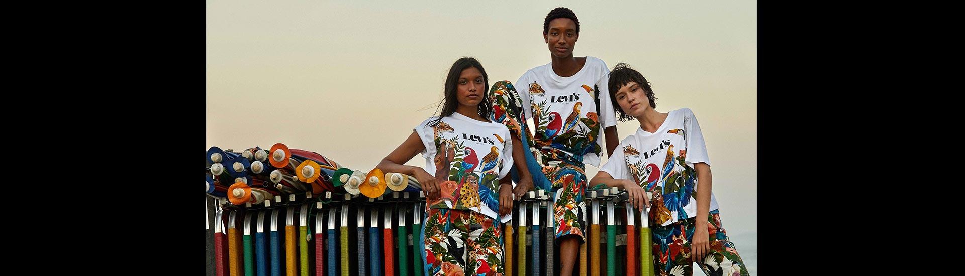 復興館6F  LEVI'S® x FARM Rio聯名系列 提倡文化美學