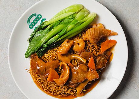 港式海鮮廣炒麵