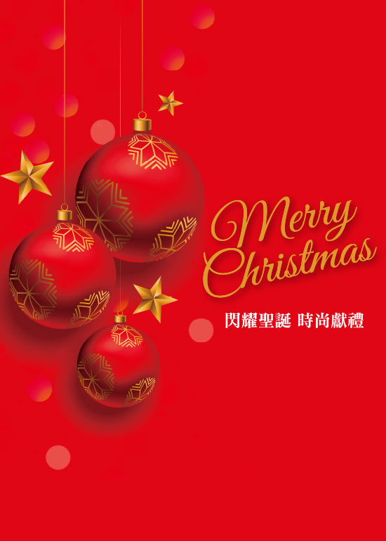 Merry Christmas 閃耀聖誕 時尚獻禮