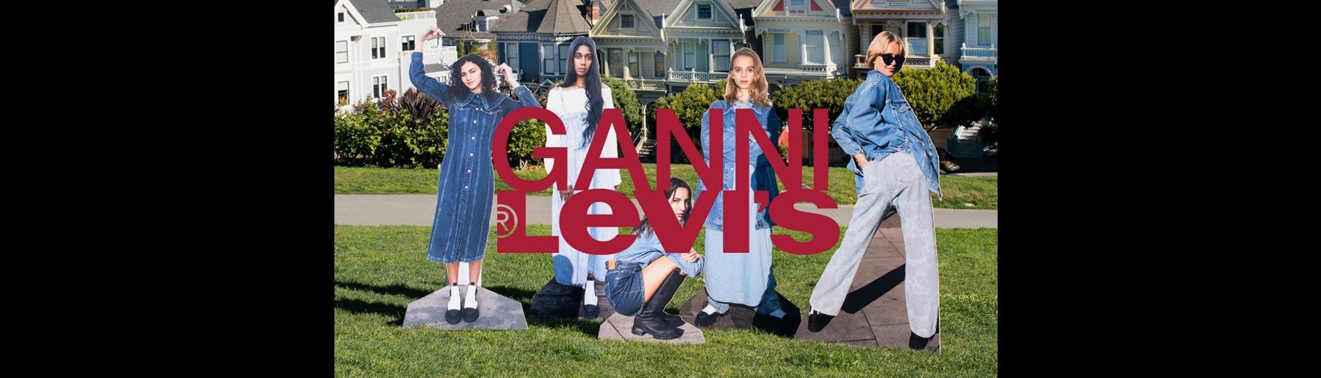 復興館6F LEVI'S®與GANNI再度攜手設計聯名丹寧系列獨家販售