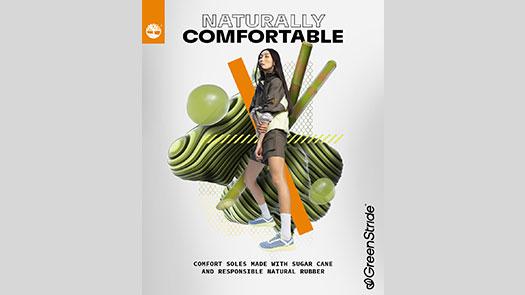 復興館6F Timberland 蔗款厲害 正式發佈以自然為靈感兼具天然舒適的GREENSTRIDE™鞋底科技