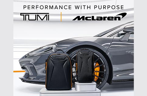 7F 【TUMI | McLaren 聯名系列上市】