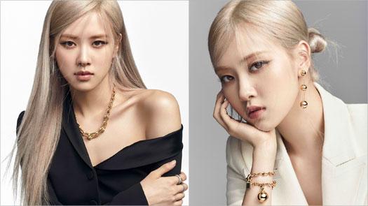 BLACKPINK成員ROSÉ成為Tiffany & Co.全球品牌代言人