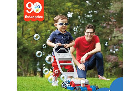 5F 奇哥 超人氣推薦  費雪智趣聲樂玩具割草泡泡機