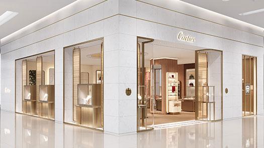復興館1F  Cartier 全新概念店開幕