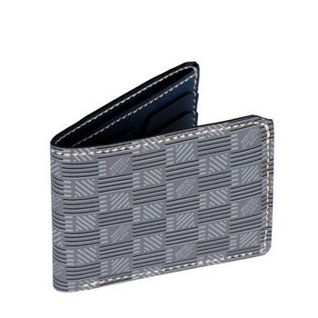 經典藤紋 頂級皮革六卡錢包