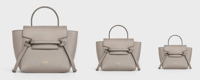 Celin Belt Bag 尺寸