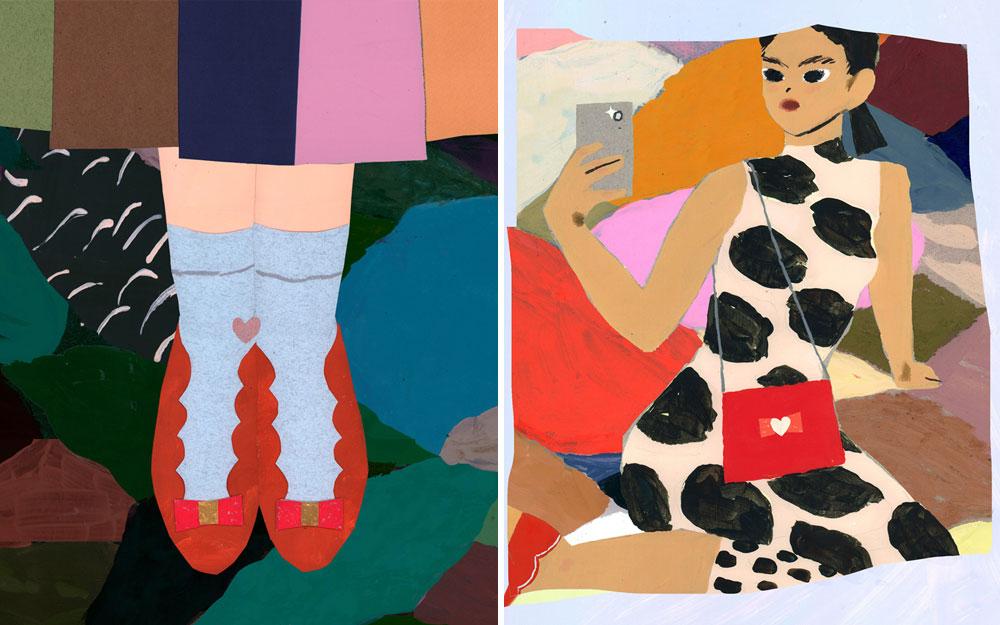 倫敦藝術家Charlotte Mei為Ferragamo創作西洋情人節多媒體藝術品